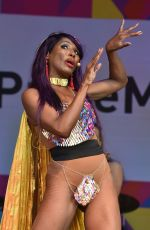 SINITTA Performs at Pride London Festival in London 07/07/2018
