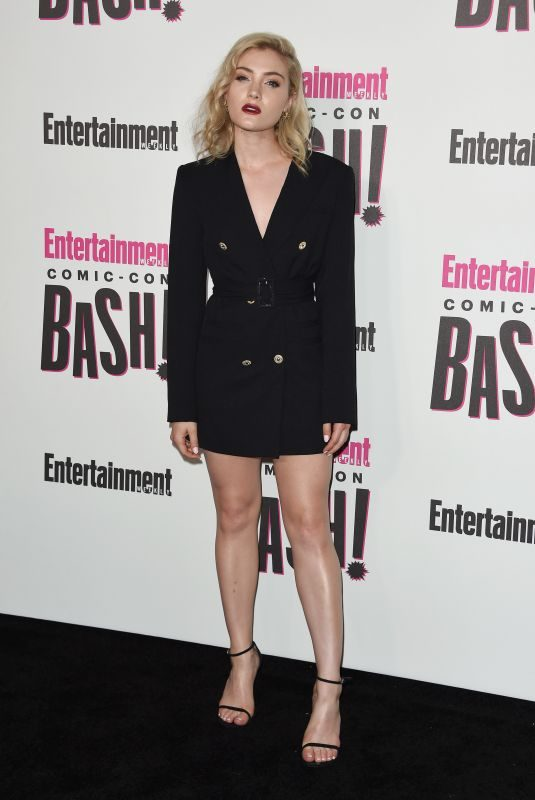 SKYLER SAMUELS at Entertainment Weekly Party at Comic-con in San Diego 07/21/2018