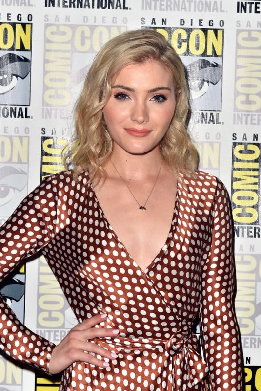 SKYLER SAMUELS at The Gifted Panel at Comic-con in San Diego 07/21/2018