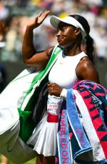 SLOANE STEPHENS at Wimbledon Tennis Championships in London 07/02/2018
