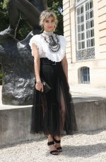 SOFIA BOUTELLA at Dior Fall/Winter 2018/2019 Haute Couture Show in Paris 07/02/2018