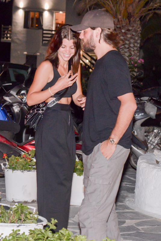 SOFIA RICHIE Leaves Restaurant in Mykonos 07/09/2018
