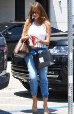SOFIA VERGARA in Denim Out in Beverly Hills 07/03/2018