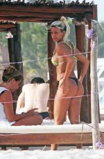 SOLCI PEREZ in Bikini on the Beach in Tulum 07/11/2018
