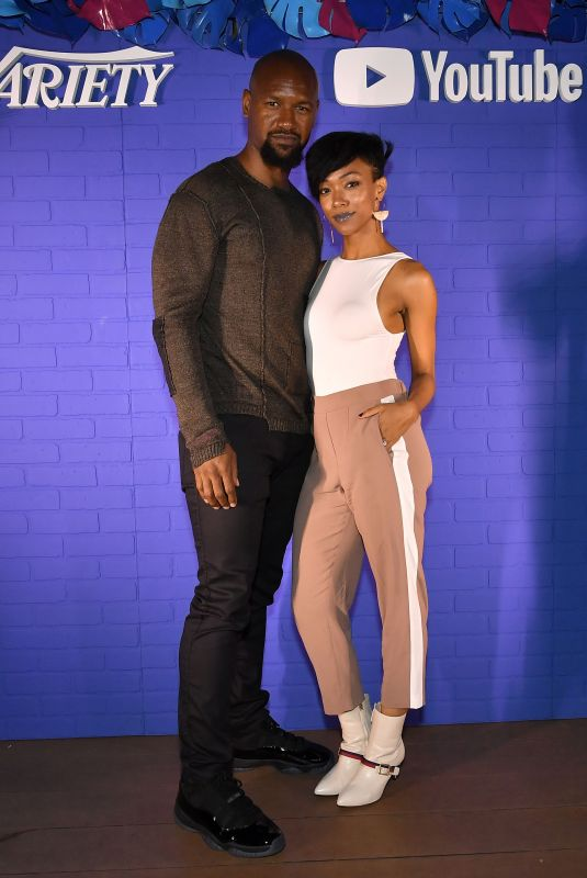 SONEQUA MARTIN GREEN at Variety and Youtube Originals Kick off Party in San Diego 07/19/2018