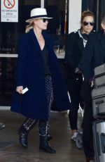 SONIA KRUGER Arrives at Airport in Sydney 07/29/2018