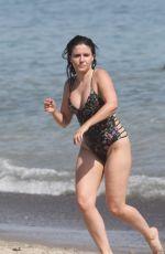 SOPHIA BUSH in Swimsuit at a Beach in Malibu 07/10/2018