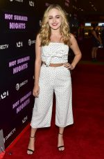 SOPHIE REYNOLDS at Hot Summer Nights Screening at Pacific Theatres in Los Angeles 07/11/2018