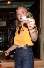 SOPHIE RITZ Leaves Ritz Club in London 07/17/2018