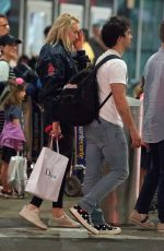 SOPHIE TURNER and Joe Jonas at JFK Airport in New York 07/02/2018