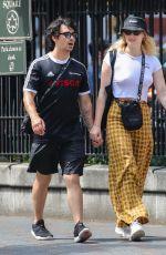 SOPHIE TURNER and Joe Jonas on Lafayette Street in New York 07/28/2018