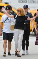 SOPHIE TURNER and Joe Jonas Out for Lunch in New York 07/24/2018