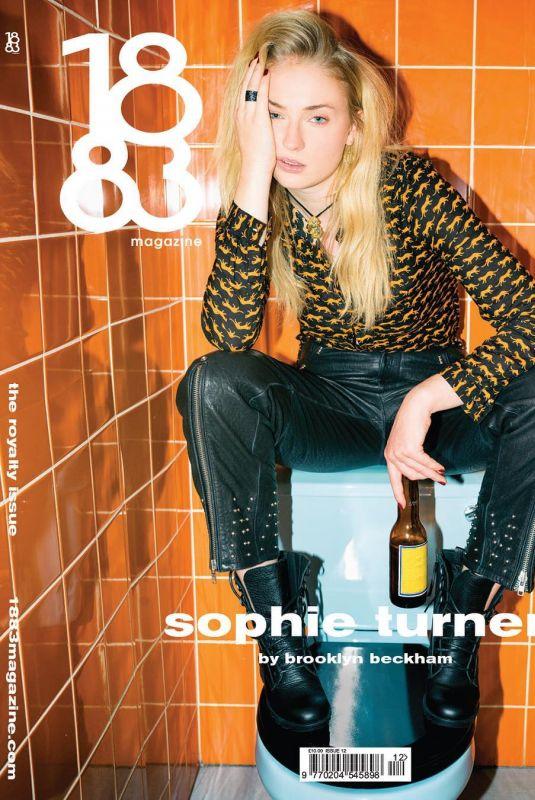 SOPHIE TURNER for 1883 Magazine, August 2018