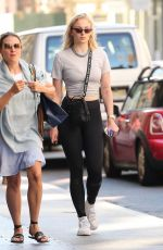 SOPHIE TURNER Out and About in New York 07/20/2018