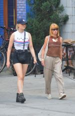 SOPHIE TURNER Out and About in New York 07/26/2018\