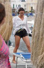 STEFANIA SEIMUR in Bikini in Ischia 07/23/2018