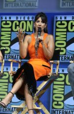 STEPHANIE BEATRIZ at Warner Bros. Panel at Comic-con in San Diego 07/21/2018