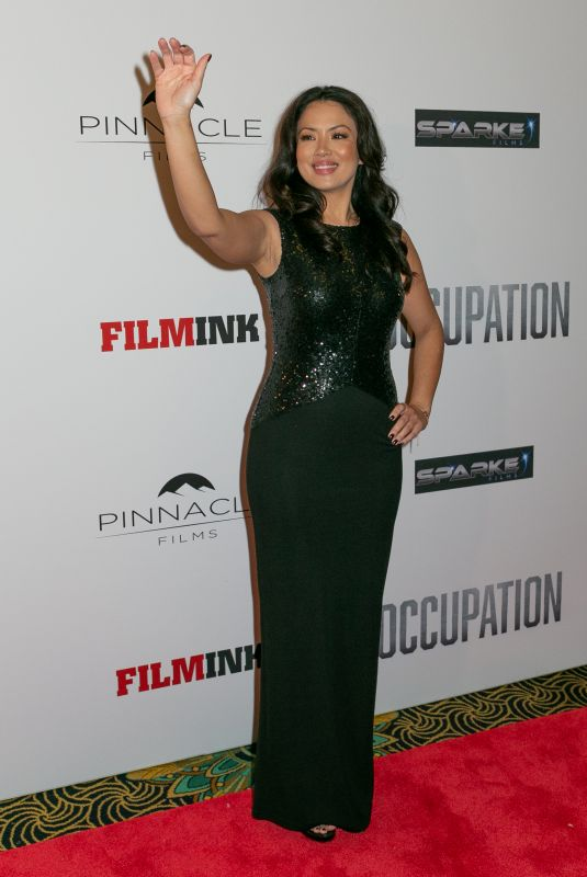 STEPHANIE JACOBSEN at Occupation Premiere at Ritz Cinema in Sydney 07/10/2018