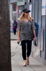 STEPHANIE PRATT Out with Her Dog in London 07/18/2018