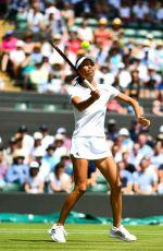SU-WEI HSIEH at Wimbledon Tennis Championships in London 07/07/2018