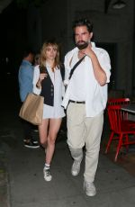 SUKI WTAERHOUSE Leaves Republique Restaurant in Los Angeles 07/17/2018