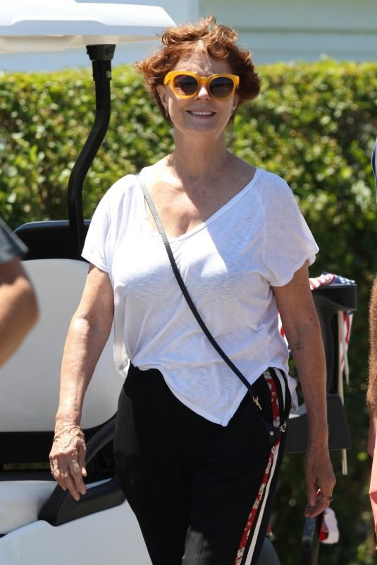 SUSAN SARANDON at Kennedy Family Compound in Hyannisport 07/07/2018