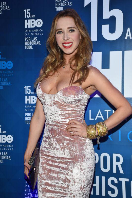 SUSANA POSADA at HBO Latin America 15th Anniversary in Mexico City 07/18/2018