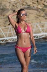 SYLVIE MEIS in Red Bikini on the Beach in Mykonos 07/12/2018