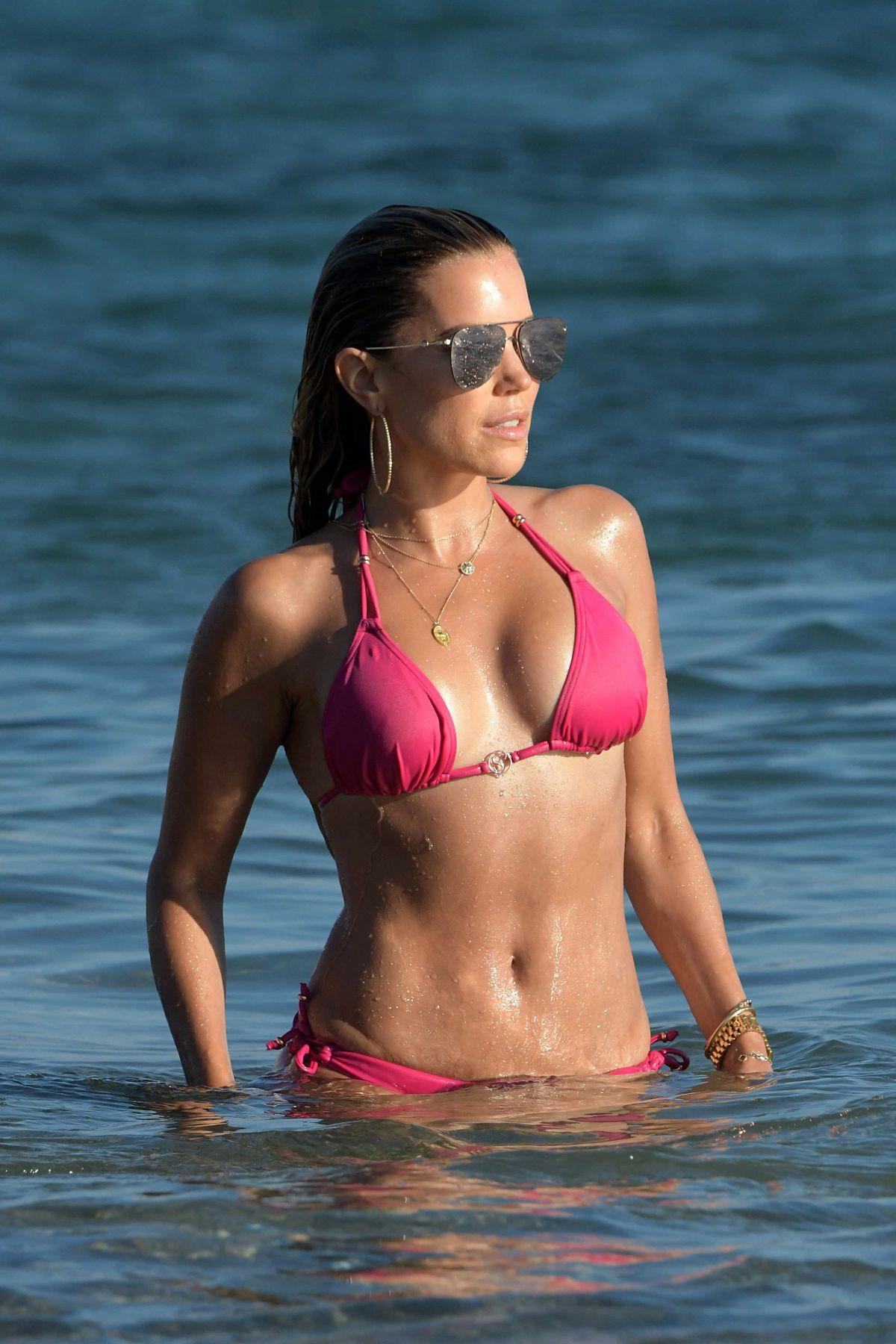Sylvie Meis Bikini Mykonos