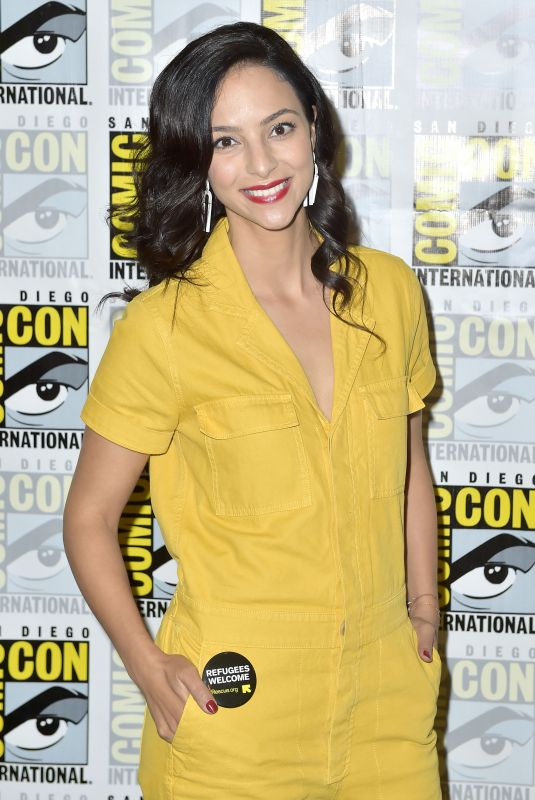 TALA ASHE at Legends of Tomorrow Photocall at Comic-con in San Diego 07/21/2018