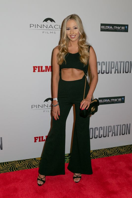 TALEISHA BONORA at Occupation Premiere at Ritz Cinema in Sydney 07/10/2018