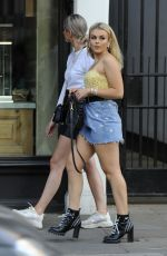 TALLIA STORM Out and About in Chelsea in London 07/07/2018