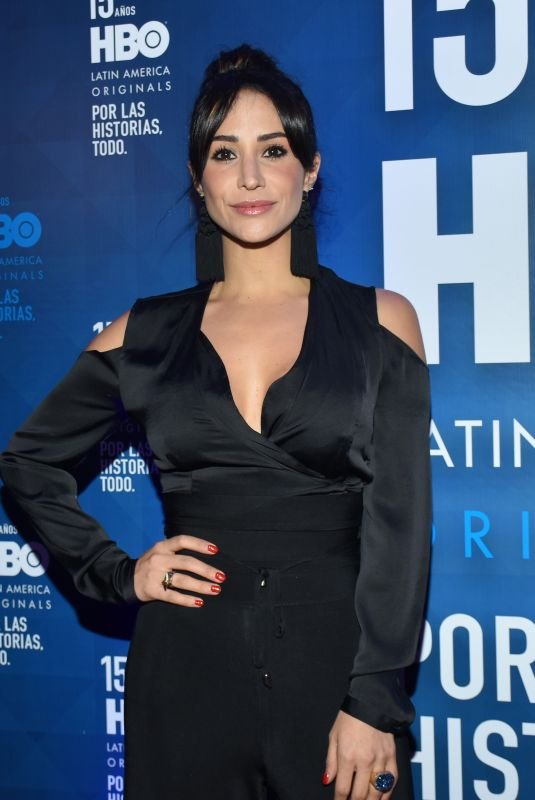 TANIA LOPEZ at HBO Latin America 15th Anniversary in Mexico City 07/18/2018