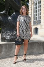 TANYA BURR at Dior Fall/Winter 2018/2019 Haute Couture Show in Paris 07/02/2018