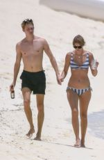 TAYLOR SWIFT in Bikini at a Beach in Turks and Caicos 07/09/2018