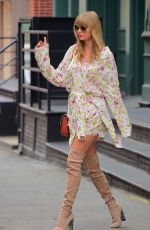 TAYLOR SWIFT in High Knee Boots Out in New York 07/15/2018