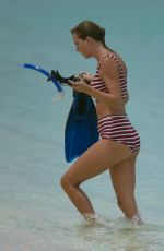 TAYLOR SWIFT in Swimsuit at Beach in Turks and Caicos 07/05/2018