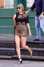 TAYLOR SWIFT Leaves Her Apartment in New York 07/20/2018