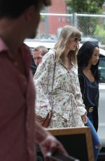 TAYLOR SWIFT Out for Lunch in New York 07/14/2018