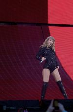 TAYLOR SWIFT Performs at Her Reputation Tour in Columbus 07/07/2018