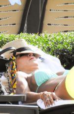 TERESA GIUDICE in Bikini at a Pool in Orlando 07/05/2018