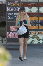 TERESA PALMER Out and About in Los Angeles 07/01/2018