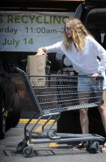 TERESA PALMER Out Shopping in Los Angeles 07/21/2018