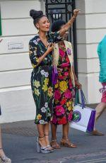 THANDIE NEWTON at Wimbledon Tennis Championships in London 07/14/2018