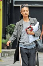 THANDIE NEWTON Out in Notting Hill 07/17/2018