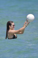 THYLANE BLONDEAU in Bikini at a Beach in St Tropez 07/09/2018