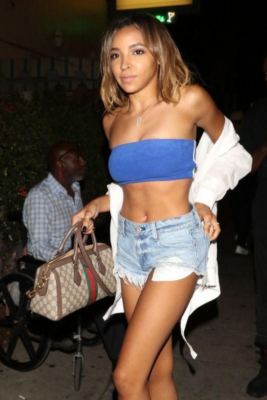 TINASHE at Delilah Nightclub in Los Angeles 07/22/2018