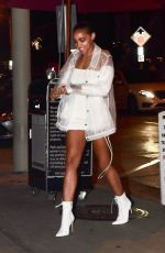 TINASHE Out for Dinner at Craig