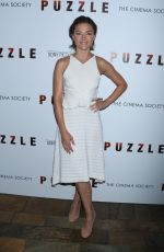 TRIESTE DUNN at Puzzle Screening in New York 07/24/2018