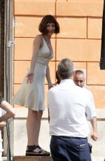 URSULA CORBERO on the Set of a Photoshoot in Rome 07/24/2018